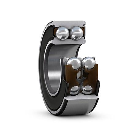 Chrome Steel Double Row Kantet Kontakt kulelagre